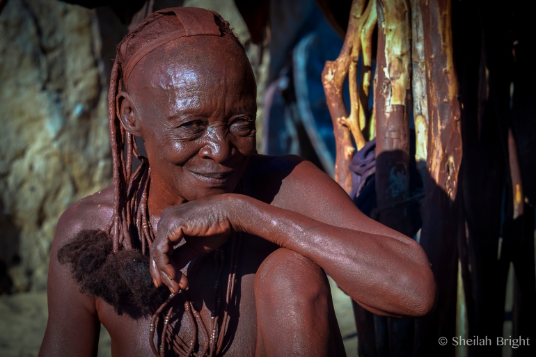 In the Purros Himba settlement, Uazapi is known for her laughter.